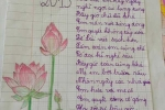 Bức thư dễ thương học sinh lớp 3 tặng cô 20/11