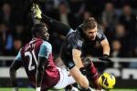 Được 'tha' 1 bàn thua, Man City hòa hú vía West Ham