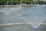 Hà Nội lắp 4 hệ thống 'quạt khí trời' cứu cá Hồ Tây