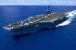 Tàu sân bay Mỹ chuẩn bị thăm Việt Nam