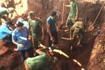 Tìm được 10 hài cốt liệt sĩ trong hố chôn tập thể ở Gia Lai