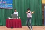 Nam sinh Thái Nguyên biểu diễn ảo thuật thần sầu gây sốt mạng xã hội