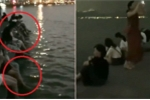 Clip: Du khách Trung Quốc vô tư ngồi rửa chân tại di sản UNESCO