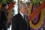 Ảnh: Lãnh đạo Đảng, Nhà nước xúc động trong lễ viếng nguyên Tổng Bí thư Đỗ Mười