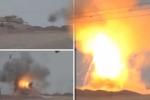 Tên lửa IS uốn lượn như rắn trước khi bắn nổ tung xe tăng do Mỹ chế tạo ở Iraq