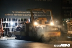 Lạnh 11°C, công nhân xuyên đêm nâng cấp ga Đồng Đăng - Lạng Sơn