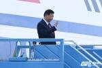 Video trực tiếp: Lễ đón Chủ tịch Trung Quốc Tập Cận Bình tại sân bay Nội Bài