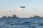 Tàu hải quân Canada bị máy bay chiến đấu Trung Quốc đeo bám trên biển Hoa Đông