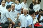 Hình ảnh Tổng Bí thư Nguyễn Phú Trọng tiếp xúc cử tri Hà Nội