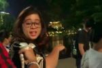 Bị tóm sống, hot girl lừa bán tăm từ thiện ở Hồ Gươm hô hoán 'hiếp người'