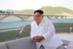 Ảnh: Lãnh đạo Kim Jong-un cười rạng rỡ sau tuyên bố chấn động của Mỹ