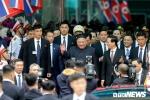 Vừa đến ga Đồng Đăng, Chủ tịch Kim Jong-un lên thẳng xe tiến về Hà Nội