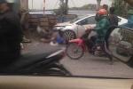 Đang dọn rác, 2 nữ lao công bị ôtô tông chết thảm