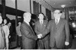 Ảnh: Nguyên Tổng Bí thư Đỗ Mười và các nguyên thủ thế giới