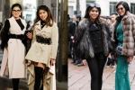 Mẹ và em chồng Hà Tăng thay hàng chục trang phục hàng hiệu dự Tuần lễ Thời trang Milan