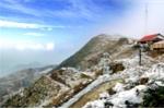 Sắp có cáp treo lên đỉnh Mẫu Sơn ngắm băng tuyết