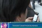 Dùng điện thoại trong bóng tối có nguy cơ mù tạm thời