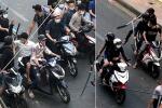 Triệu tập nhóm giang hồ dùng súng, mã tấu hỗn chiến kinh hoàng ngay trung tâm Sài Gòn