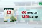 Sáp nhập hơn 300 trung tâm y tế, hàng ngàn người mất vị trí lãnh đạo
