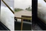 Clip: Phố biến thành sông, dân Thủ đô thích thú trải nghiệm 'xe buýt đường thủy'