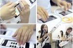 Gái Trung Quốc chơi nhạc Linkin Park bằng mobile