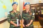 Thêm sỹ quan Việt Nam đi làm nhiệm vụ giữ gìn hòa bình của Liên hợp quốc