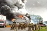 Clip: Nổ kho pháo hoa ở Trung Quốc, 15 người chết