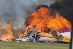 Clip: Toàn cảnh vụ máy bay Mỹ nổ tung khi biểu diễn