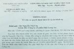 Nữ giám đốc tố Cục trưởng Thi hành án dân sự Long An ký quyết định sai quy trình