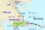 Bão số 14 suy yếu thành áp thấp nhiệt đới trước khi đổ bộ đất liền