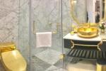 Choáng với căn hộ siêu sang, dát vàng cả nhà vệ sinh ở Hà Nội