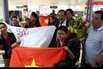 Video: Hàng trăm người đón đoàn Olympic Toán và Khoa học quốc tế thắng lợi trở về