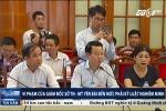 Video: Thanh tra Chính phủ chỉ rõ hàng loạt sai phạm của ông Phạm Sỹ Quý