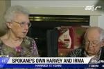 Cặp vợ chồng trùng tên bão Harvey và Irma gây sốt mạng xã hội