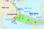 Tối nay, Biển Đông đón cơn bão số 2 trong năm 2018