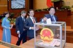 Quốc hội bỏ phiếu kín bầu Thủ tướng