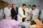 Ông Kim Jong-un thăm Đại sứ quán Trung Quốc sau tai nạn thảm khốc làm 36 người chết