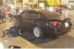 Clip: Hiện trường nữ tài xế BMW tông hàng loạt xe máy, 1 người chết