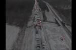 Video: Băng tuyết phủ kín đường cao tốc, hàng chục ô tô đâm nhau trong giá lạnh lịch sử ở Mỹ