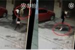 Clip: Bị chó rơi trúng đầu, cô gái bất tỉnh, gãy 3 đốt sống cổ