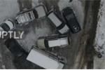 Clip: Ô tô thi nhau trượt lăn lóc như đồ chơi trên dốc tuyết ở Nga
