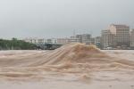 Clip: Nước lũ cuồn cuộn trên sông Ka Long ở Quảng Ninh