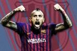 Chính thức: Arturo Vidal cập bến Barcelona