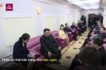 Video: Nội thất tiện nghi bên trong đoàn tàu 'tôm hùm' của ông Kim Jong-un