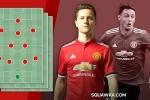 MU mất Pogba, Fellaini: Mourinho dùng Herrera đấu Liverpool