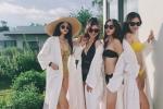Hotgirl World Cup ru nhau khoe dang trong bikini ma khong co Tram Anh hinh anh 2