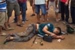 Tấn công lại người dân khi bị rượt đuổi, nghi can trộm chó bị đánh chết