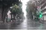 Clip: Vẻ khác thường của đường phố Hà Nội sáng mùng 1 Tết