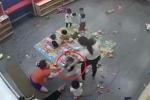 Cô giáo mầm non ở Nghệ An bất chấp camera giám sát, đánh, giật lắc bé