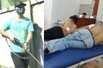 Nguyên nhân nhóm côn đồ bịt mặt nã súng vào xe taxi ở Thanh Hóa